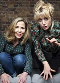 SALLY PHILLIPS & LILY BEVAN